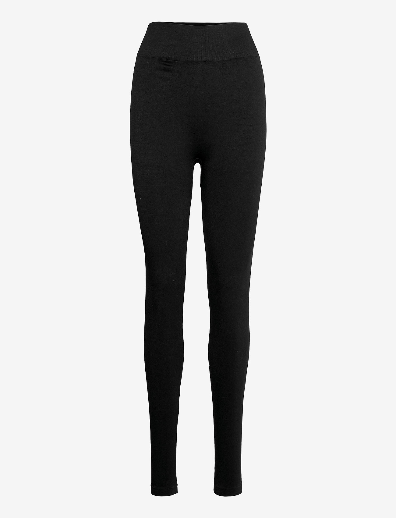 b.young - BYBRIX LEG - Leggings w. rib - leggings - black - 0