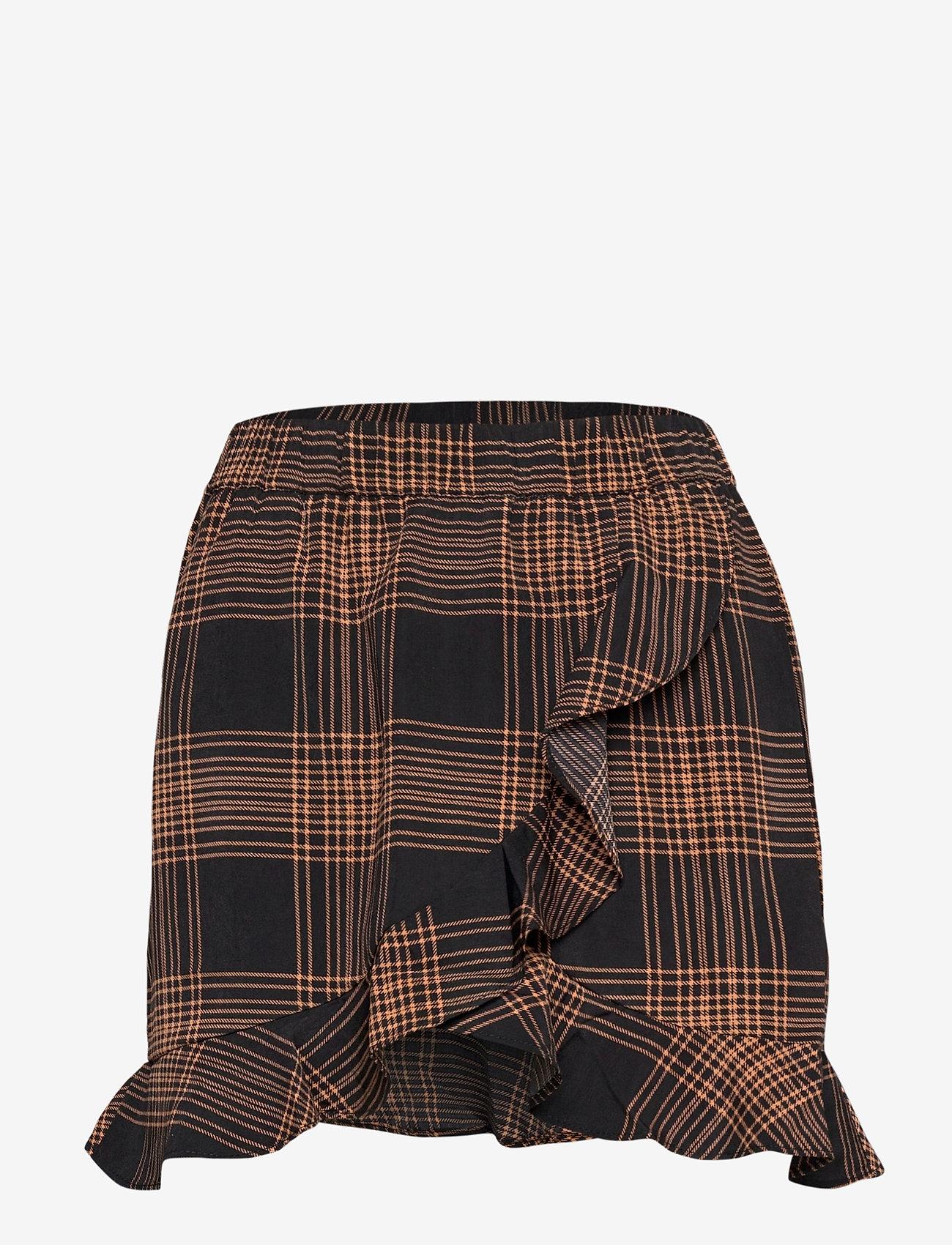 b.young - BXGIZA SKIRT NEW - korta kjolar - black combi - 0