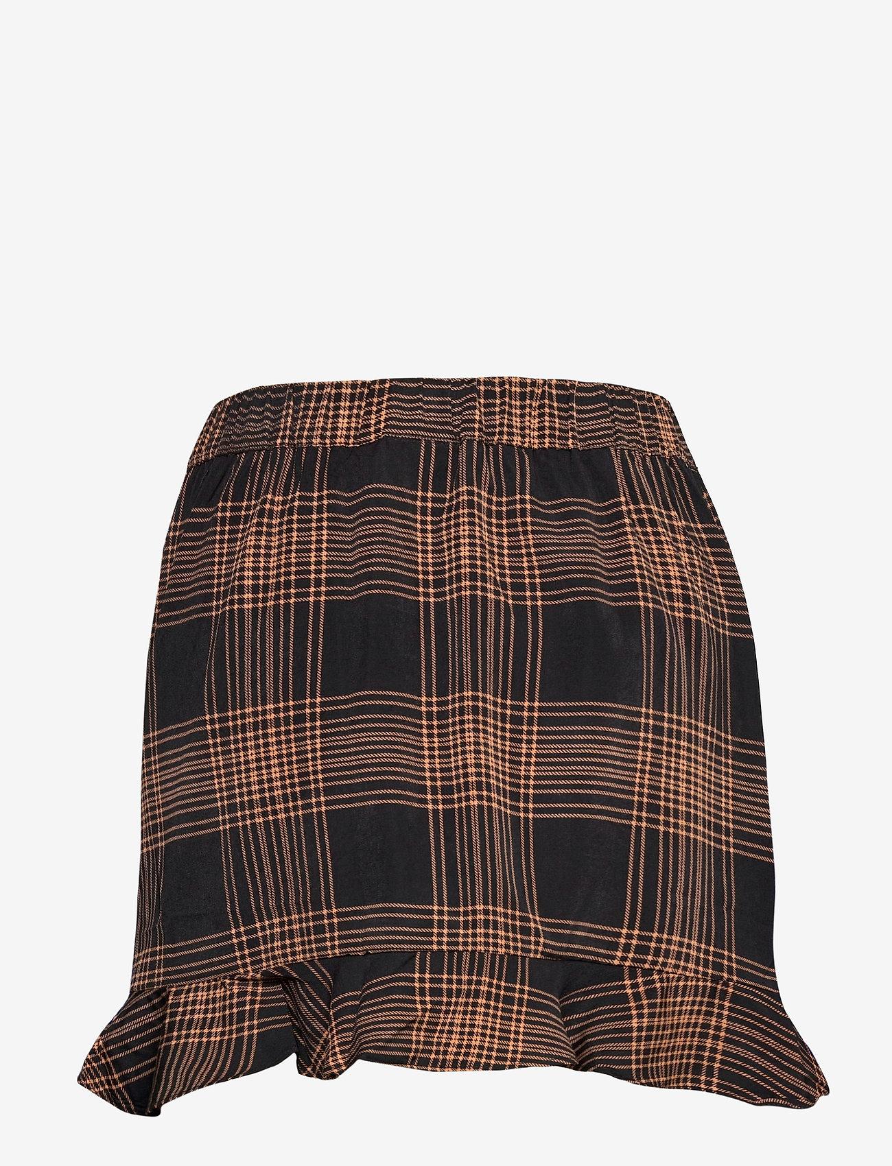 b.young - BXGIZA SKIRT NEW - korta kjolar - black combi - 1