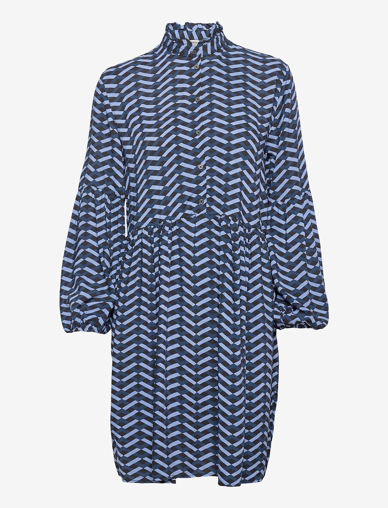b.young - BYHENNA DRESS - - korta klänningar - country blue mix - 0