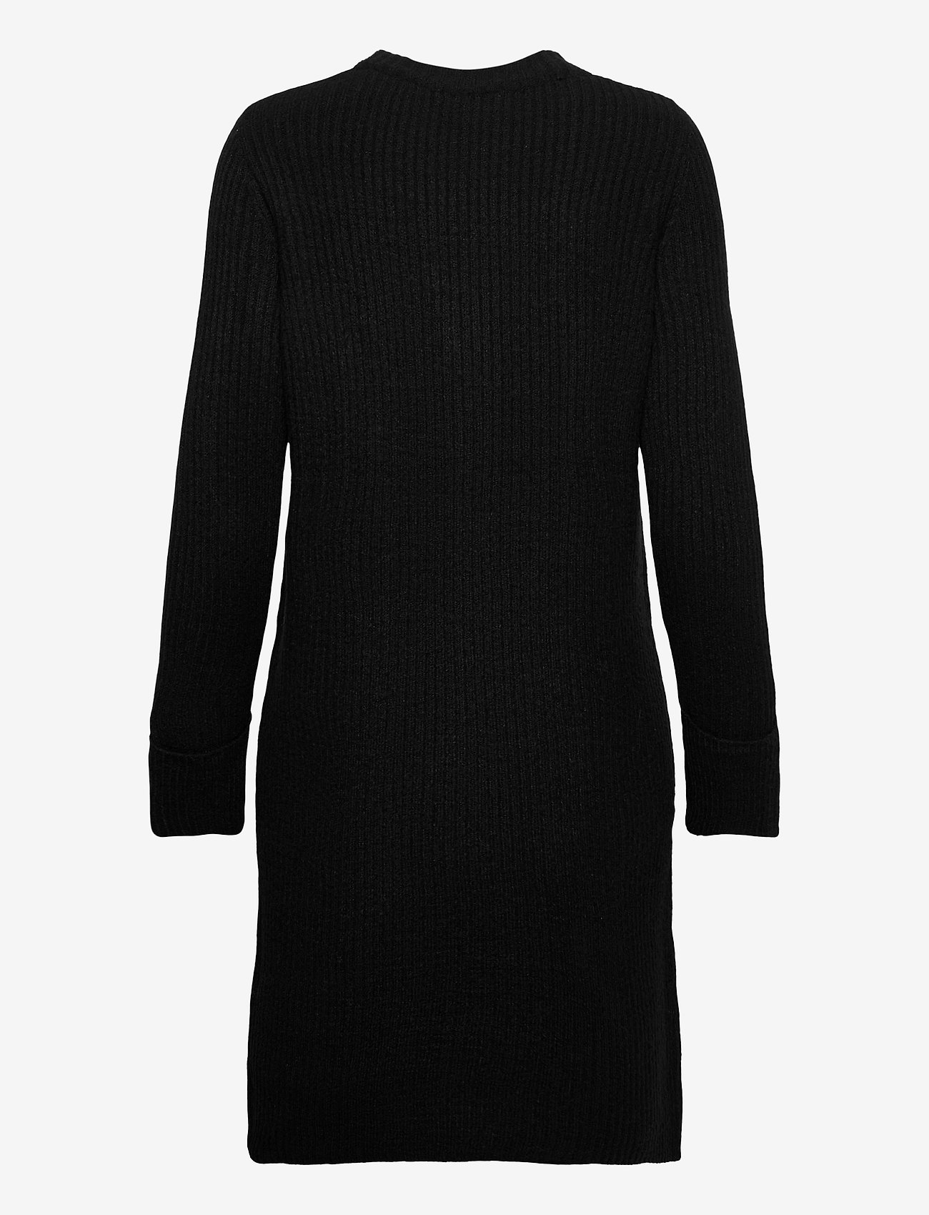 b.young - BYNORA DRESS - - strikkjoler - black - 1