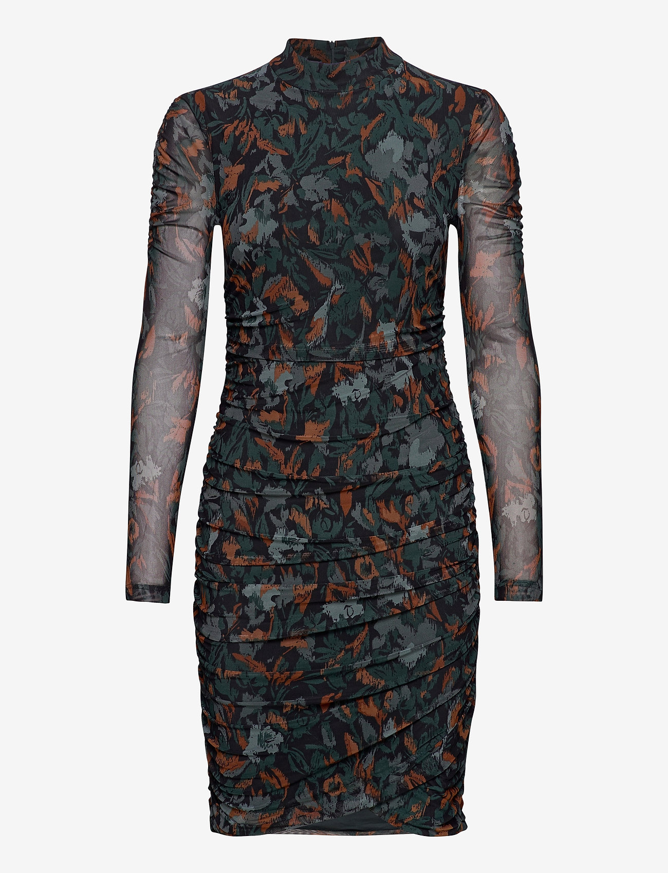 b.young - BYSANNIE DRESS - - korte kjoler - deep teal mix - 0