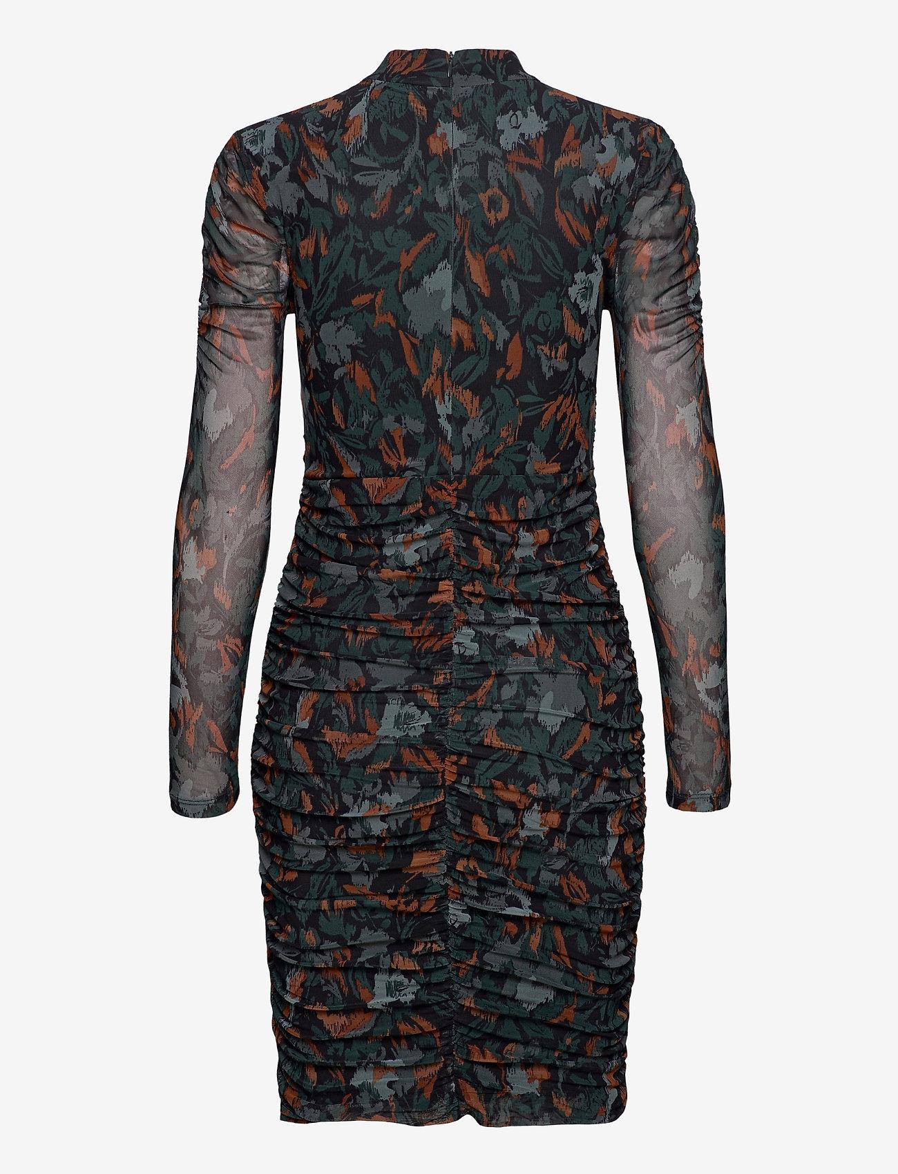 b.young - BYSANNIE DRESS - - korte kjoler - deep teal mix - 1
