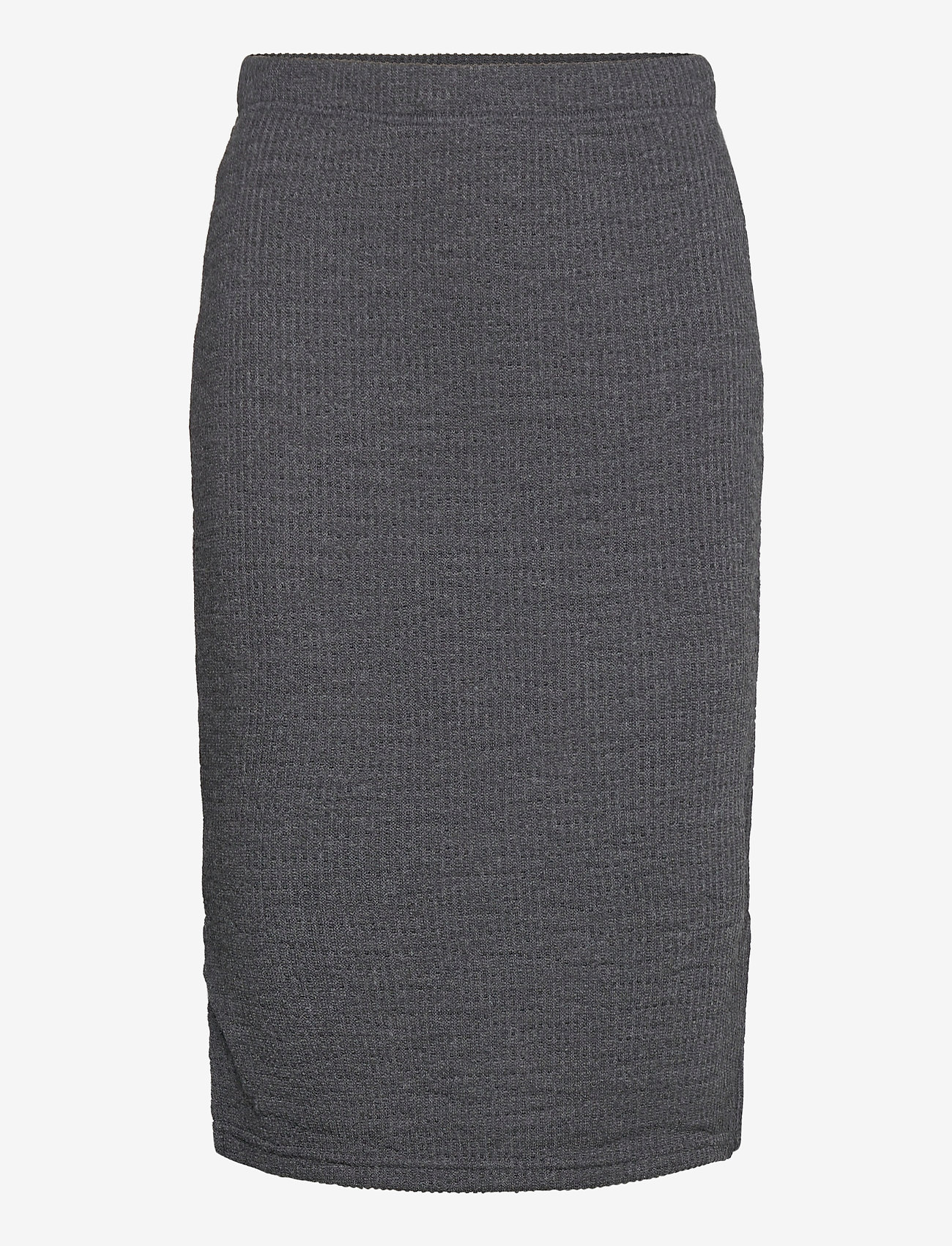 b.young - BYRASSA SKIRT - - jupes midi - dark grey melange - 0