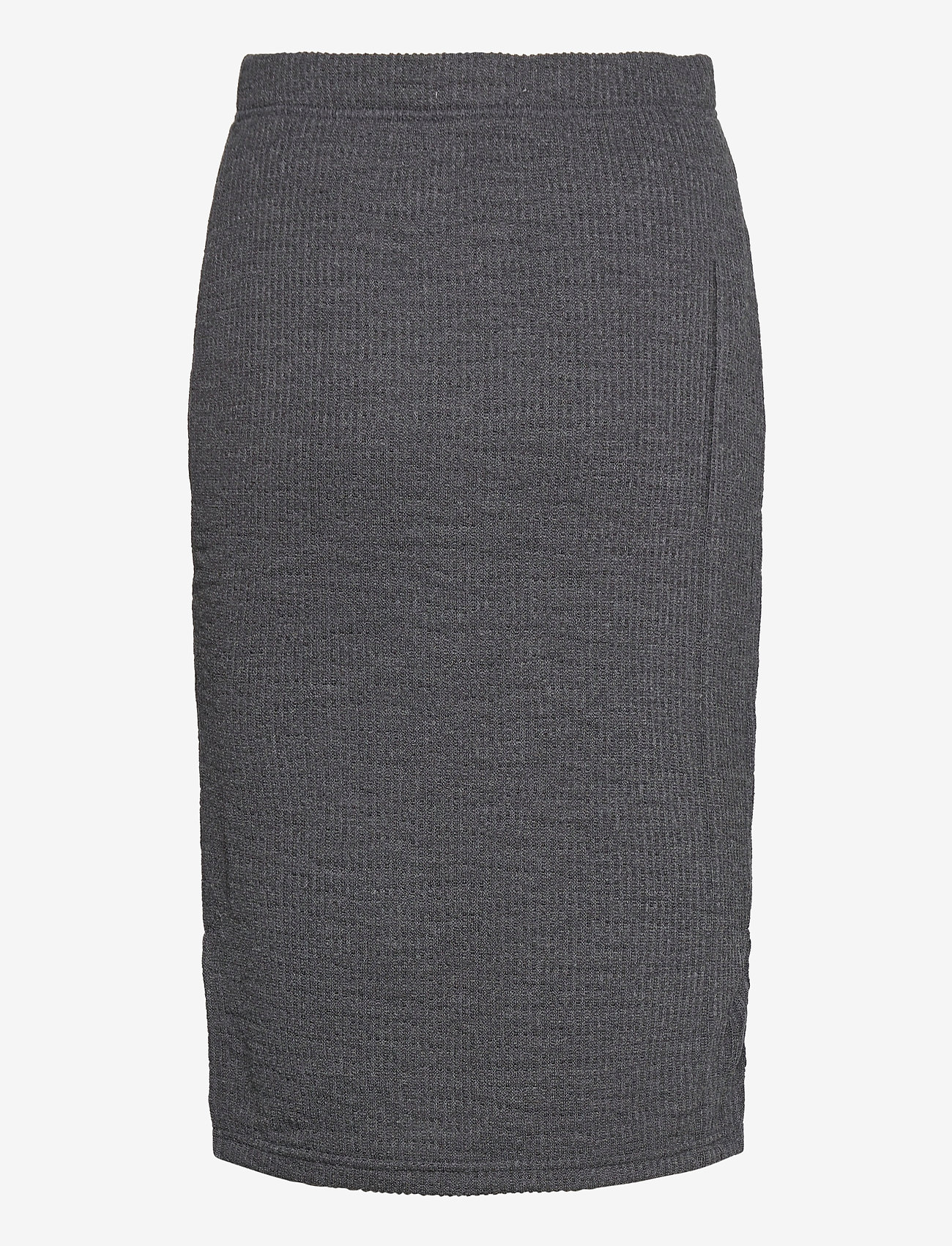 b.young - BYRASSA SKIRT - - midinederdele - dark grey melange - 1