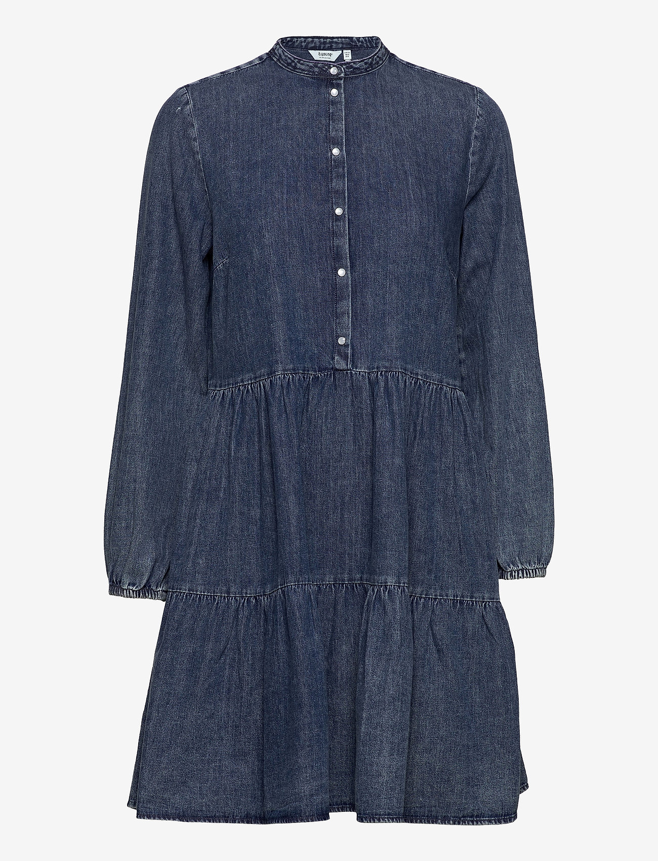 b.young - BYISELLE DRESS - - jeansklänningar - ligth blue denim - 0