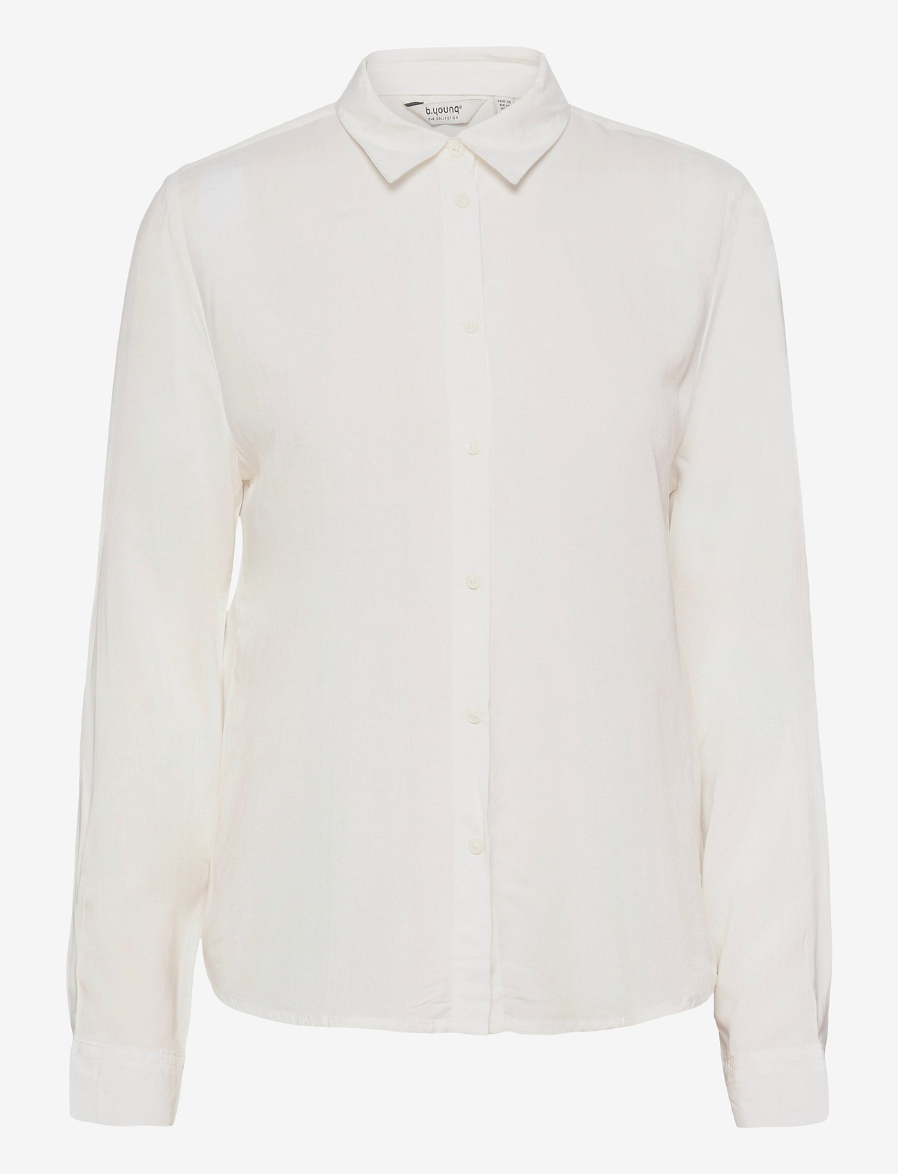 b.young - BYIDRA SHIRT - - långärmade skjortor - off white - 0
