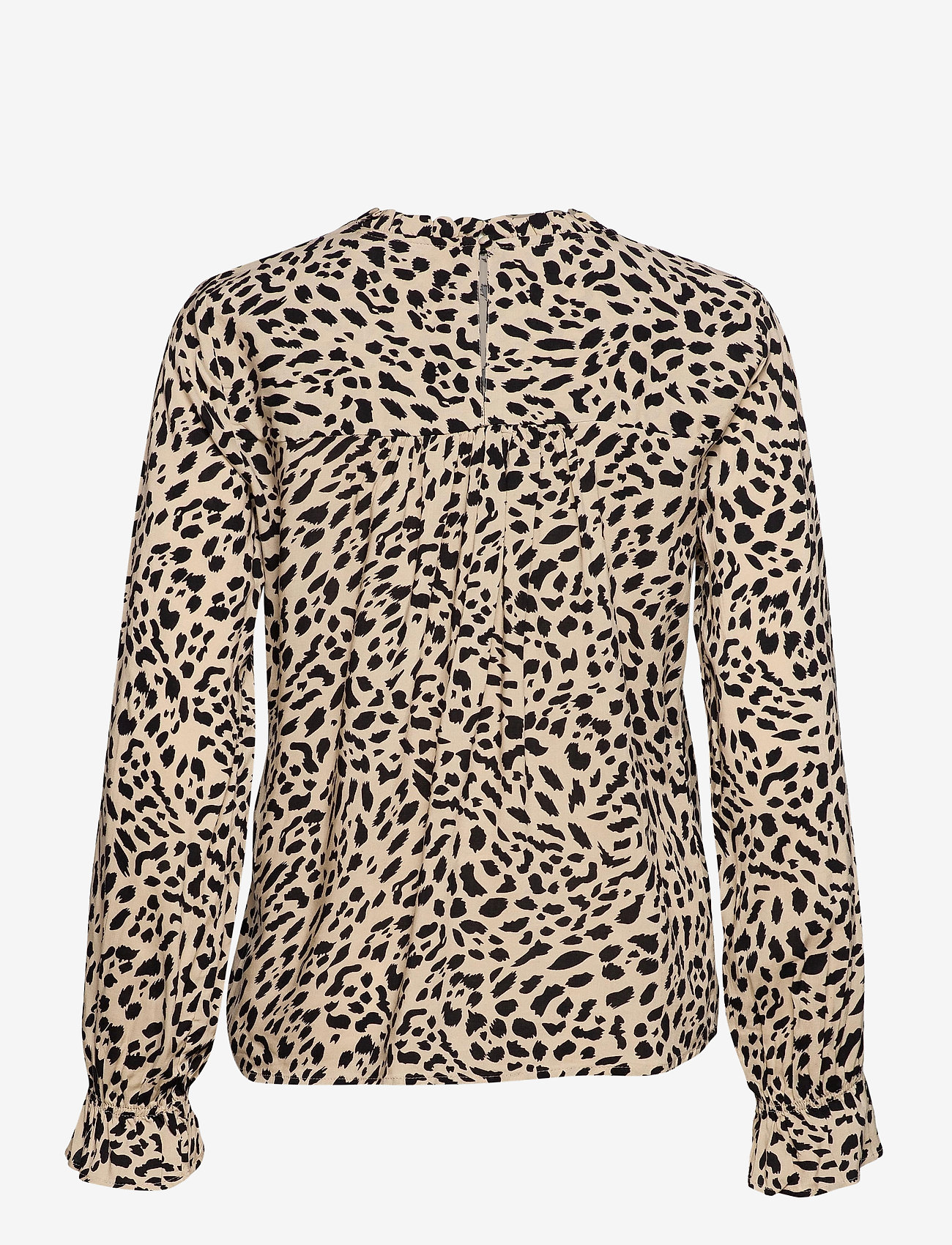 b.young - BYIDRA BLOUSE - - long sleeved blouses - cement mix - 1