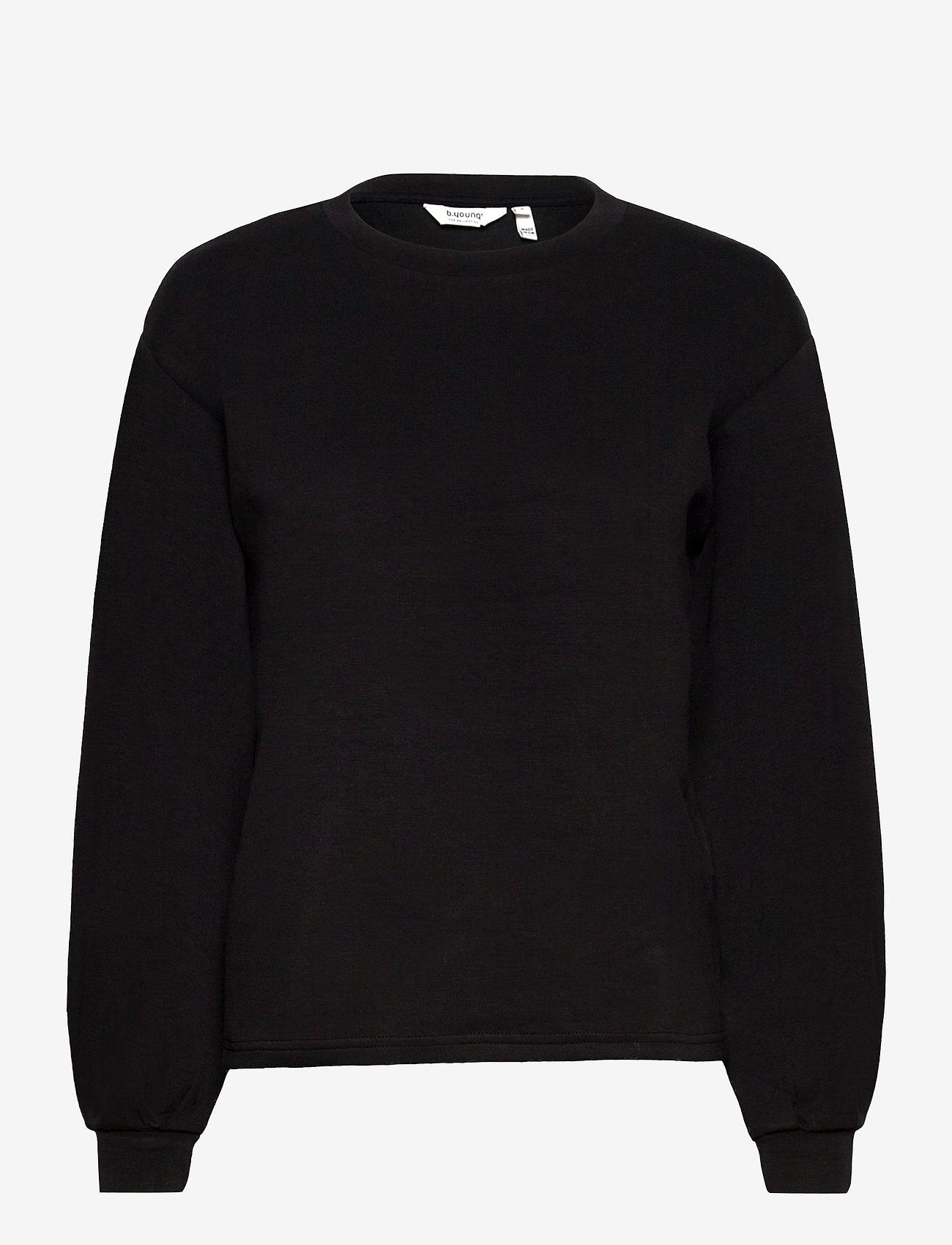 b.young - BYPUSTI PULLOVER 4 - - sweatshirts - black - 0