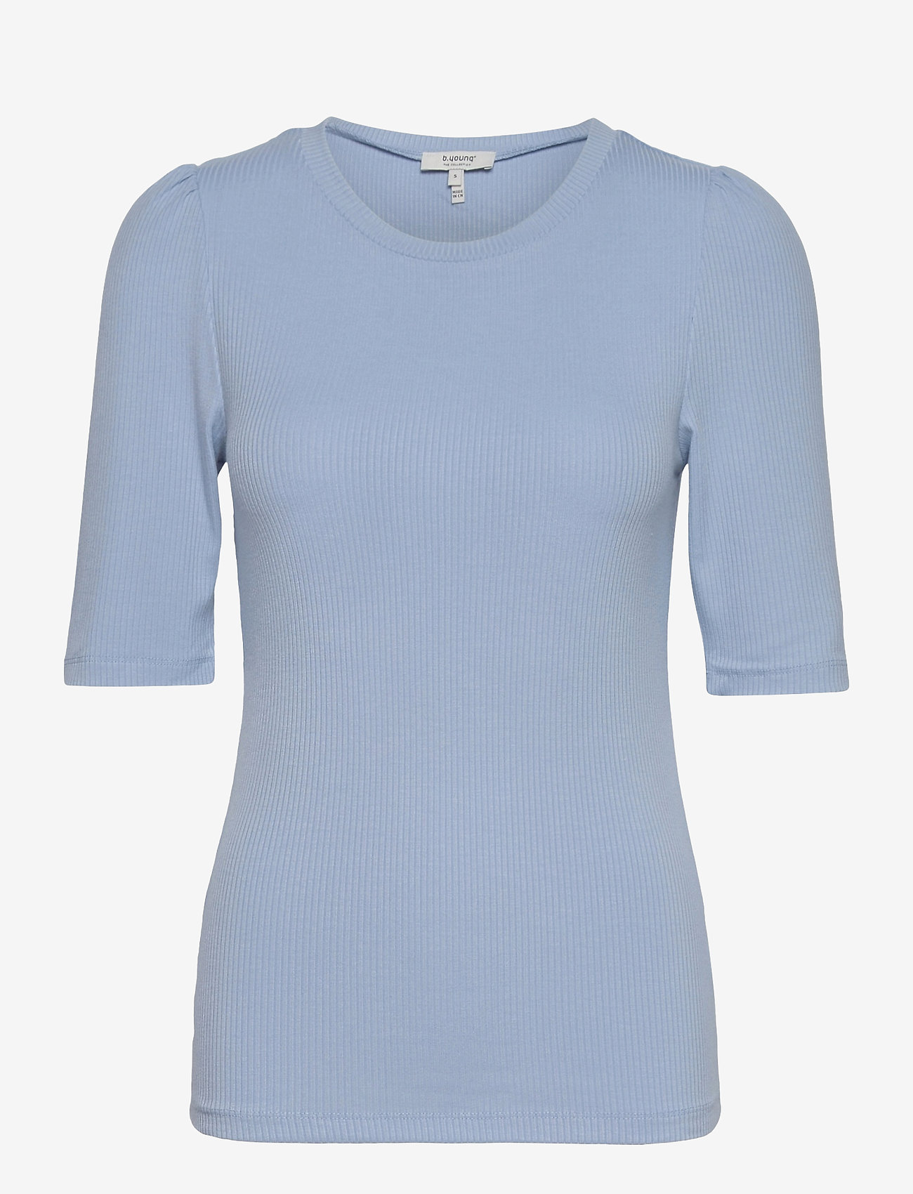 b.young - BYTOELLA PUFF - - t-shirts - brunnera blue - 0