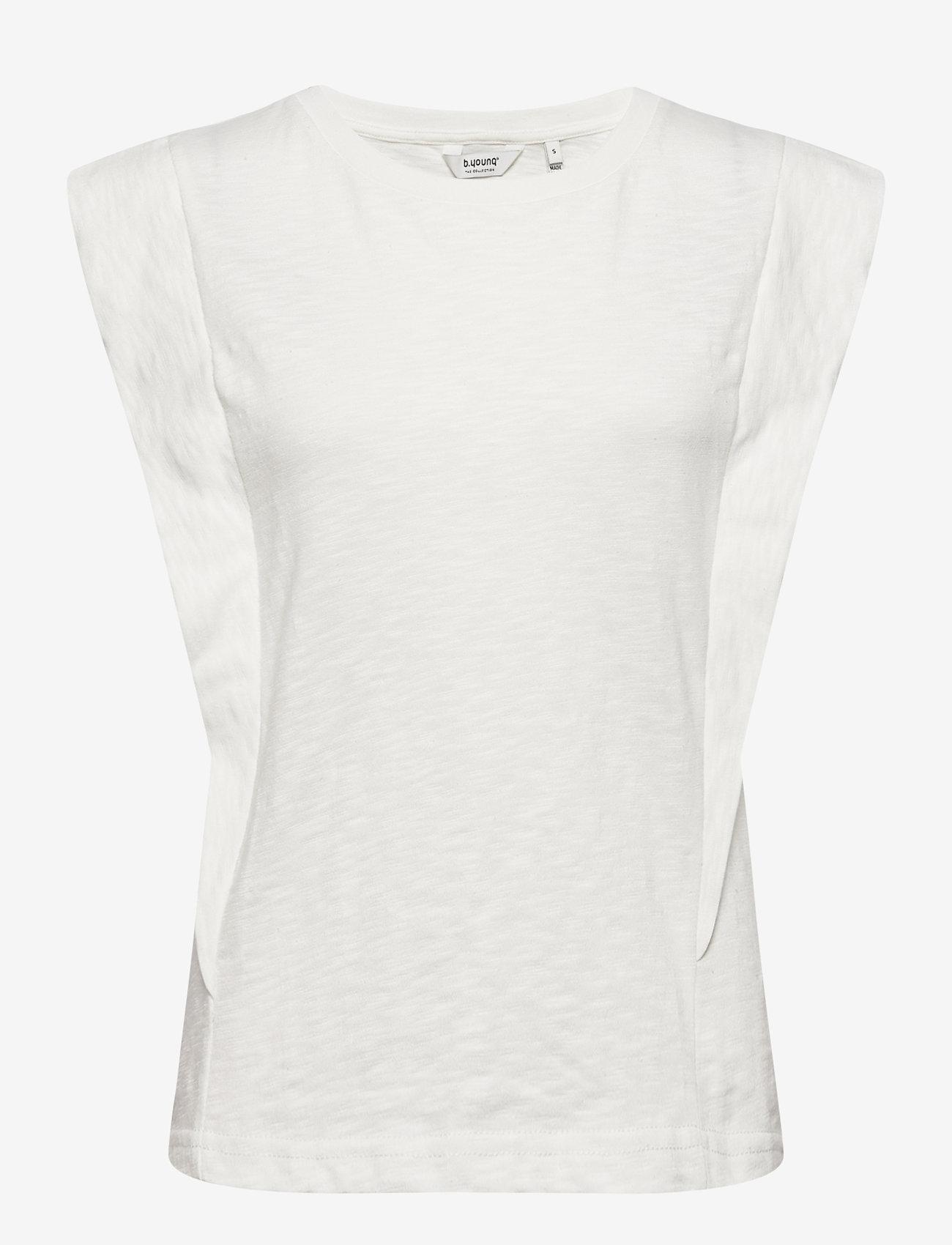 b.young - BYTELLA SLEEVELESS - - sleeveless tops - off white - 0
