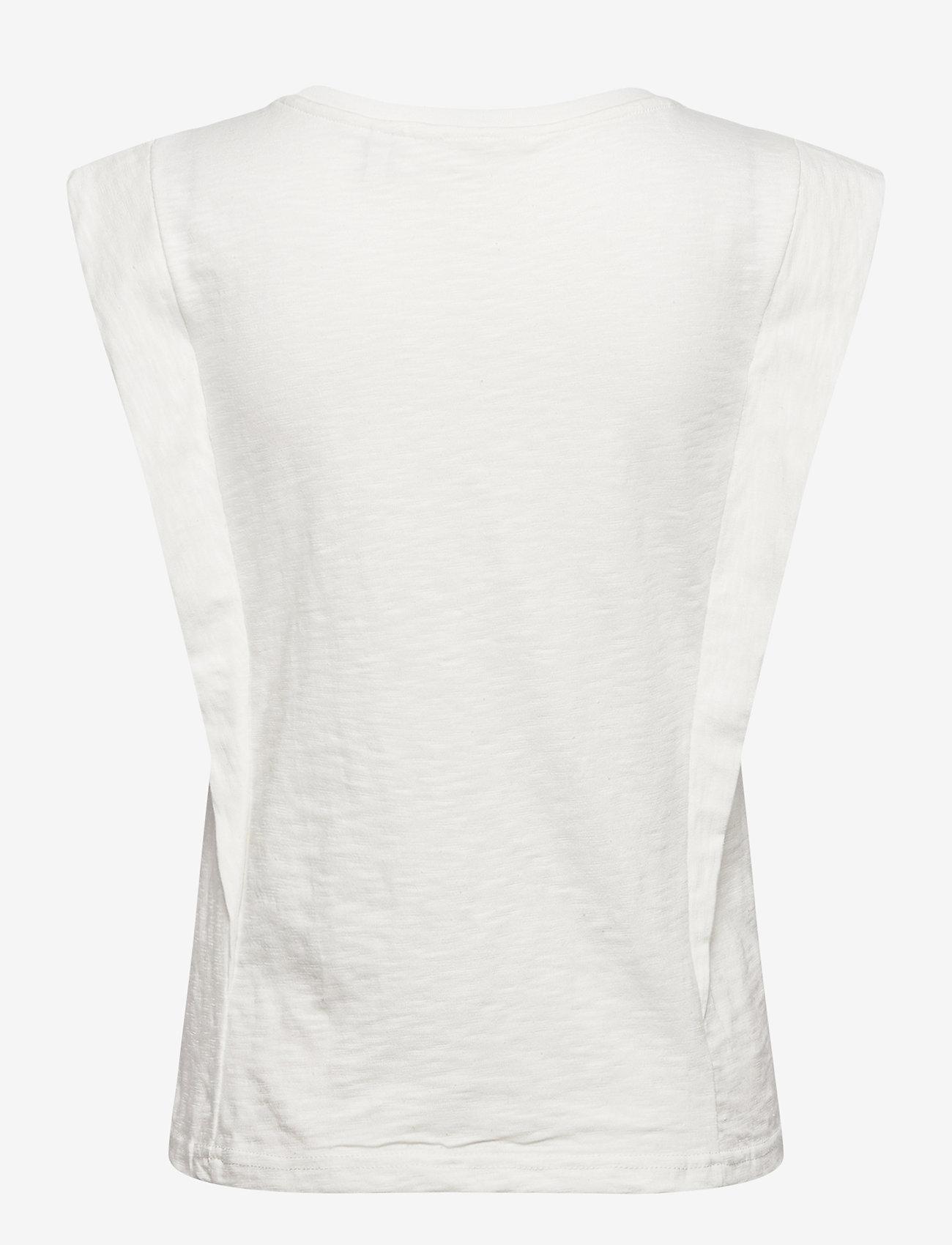 b.young - BYTELLA SLEEVELESS - - sleeveless tops - off white - 1