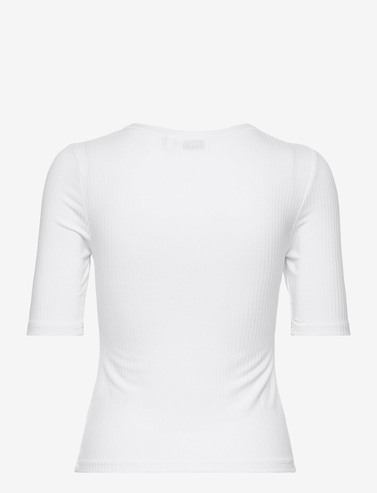 b.young - BYTOELLA SS TSHIRT 2 - - t-shirts - optical white - 1