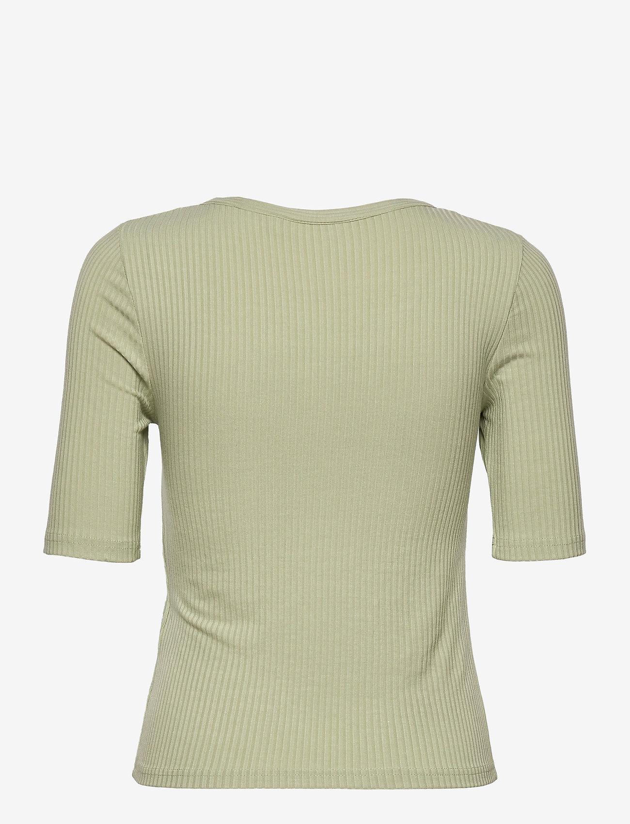 b.young - BYTOELLA SS TSHIRT 2 - - t-shirts - swamp - 1