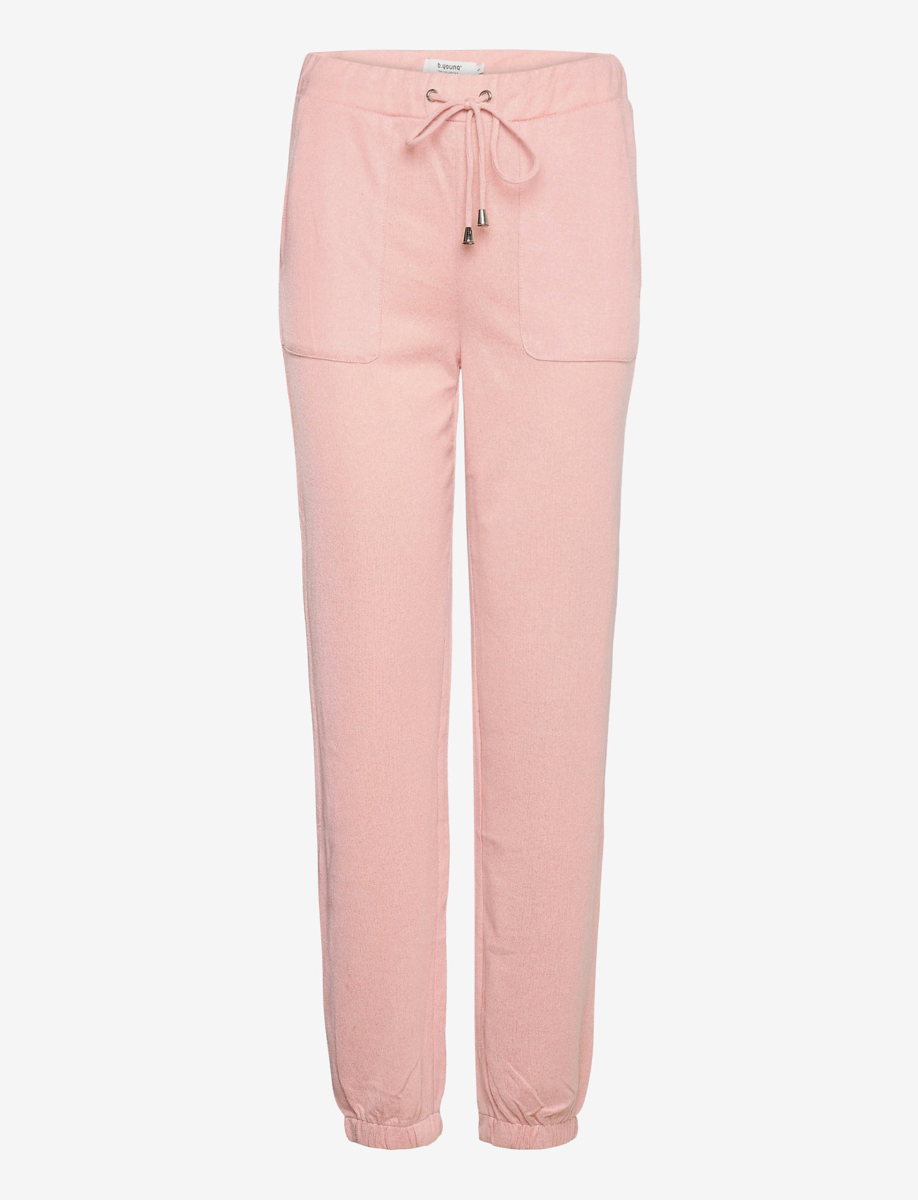 b.young - BXSELMA PANTS - - casual bukser - mel. warm rose - 0