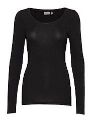 Pamila long sleeve - Jersey - BLACK