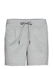 Rizetta shorts - LIGHT GREY MEL.