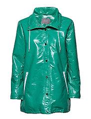 Bobo vinyl coat - - FRESH GREEN