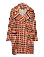 Asandy coat - - TULIP ORANGE COMBI