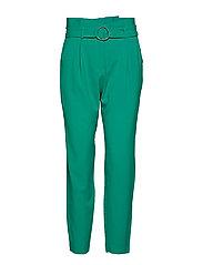 Danta belt pants - - FRESH GREEN