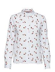 Friche chili shirt - - DOG SKY BLUE COMBI 3