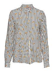 Friche chili shirt - - OFF WHITE COMBI 1