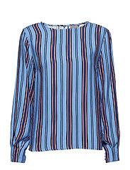 Ivanna blouse - - CORNFLOWER BLUE COMBI 1