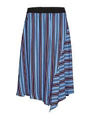 Ivanna skirt - - CORNFLOWER BLUE COMBI 1