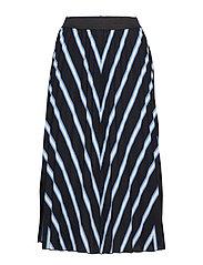 Idalika skirt - - BLACK COMBI 1