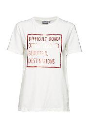 Pandina foil tshirt - - SUNKIST COMBI