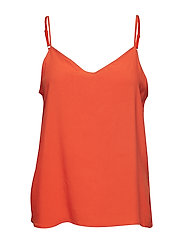 BYHAILEY TOP - - SPICY RED