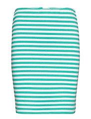 BYRizetta Skirt 2 - - FRESH GREEN BIG STRIPE