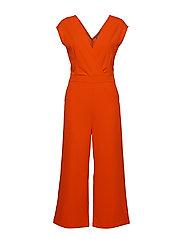 BYTAVI JUMPSUIT - - SPICY RED