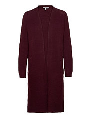 BYMIRELLE LONG CARDIGAN 3 - - MEL. WINETASTING