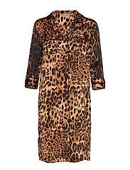 BXGIGI SHIRT DRESS - - GOLDEN COMBI 1