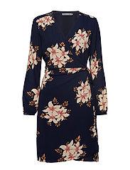 BXGabi wrap dress - - COPENHAGEN NIGHT COMBI 1