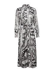BXHILDA DRESS - - SNAKE COMBI 1