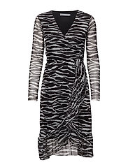 BXSILLA DRESS - - ZEBRA COMBI 1