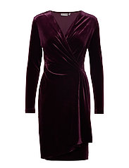 BYPERLINA DRESS 2 - - SHADOW PURPLE