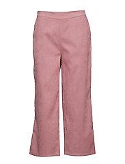 BXDINA CROPPED PANTS - - WOODROSE