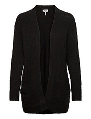 BYMIRELLE SHORT CARDIGAN 2 - - BLACK