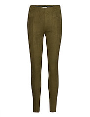 BYREGIZA LEGGINGS - - OLIVE NIGHT