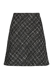 BYERICA SKIRT - - BLACK MIX