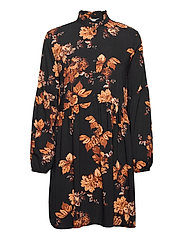 BYHENNA DRESS - - TORTOISE SHELL MIX
