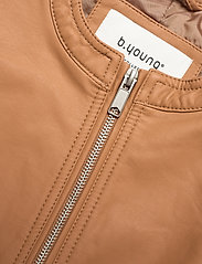b.young - BYACOM JACKET - - leather jackets - thrush - 2
