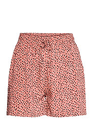 BYMMJOELLA SHORTS - - ETRUSCAN RED MIX