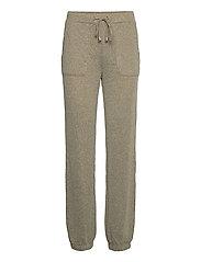 BXSELMA PANTS - - OLIVE NIGHT MELANGE