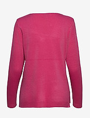 b.young - BYMALEA V NECK JUMPER - - jumpers - shocking pink - 1