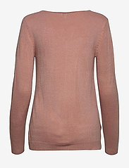 b.young - BYMALEA V NECK JUMPER - - jumpers - warm rose - 1