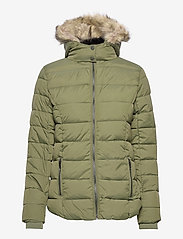 b.young - BYBOMINA JACKET 2 - - dun- & vadderade jackor - olive night - 1